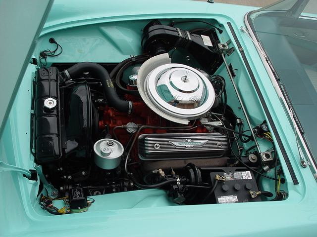 1955 FORD THUNDERBIRD CONVERTIBLE - Engine - 137619