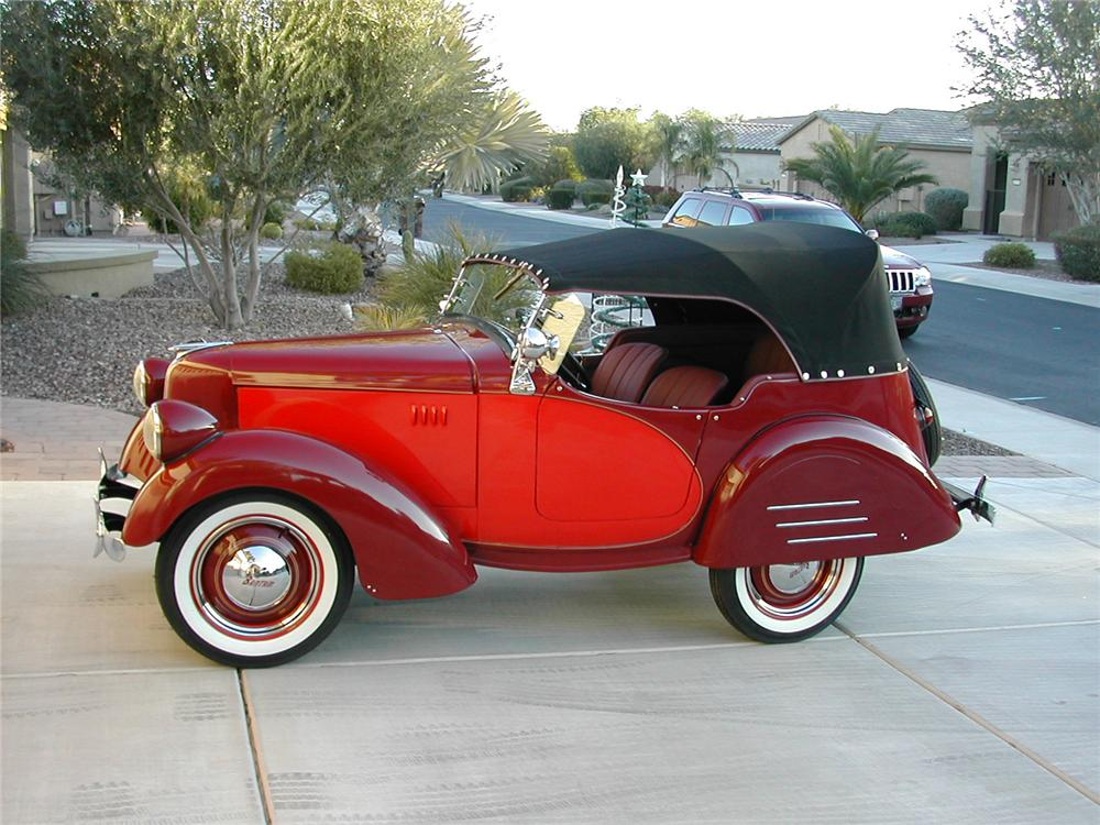 1940 AMERICAN BANTAM 65 SPEEDSTER - Side Profile - 137635