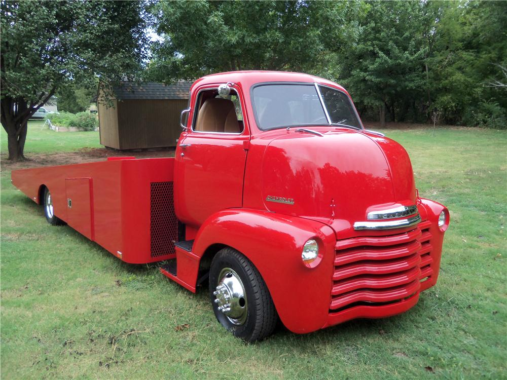 1948 CHEVROLET CUSTOM CAR HAULER - Front 3/4 - 137637