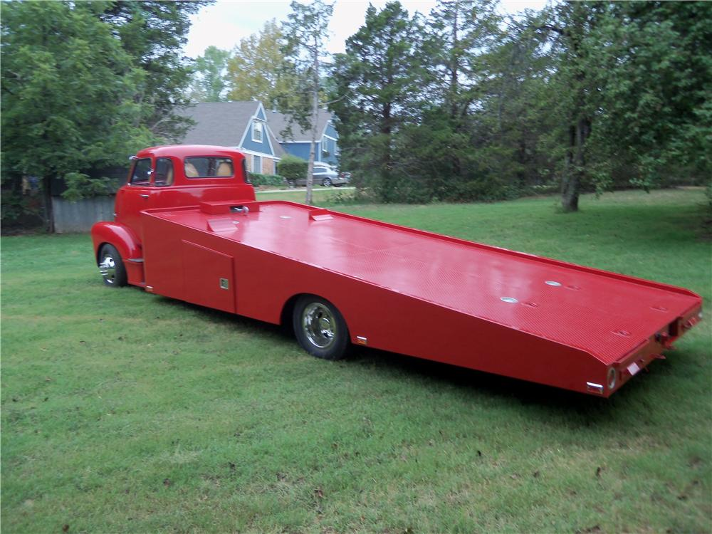 1948 CHEVROLET CUSTOM CAR HAULER - Rear 3/4 - 137637