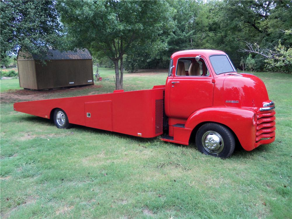 1948 CHEVROLET CUSTOM CAR HAULER - Side Profile - 137637