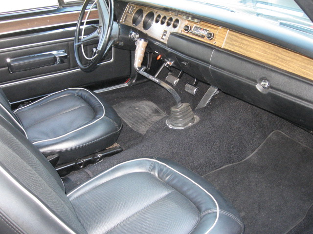 1970 PLYMOUTH GTX 2 DOOR HARDTOP - Interior - 137639