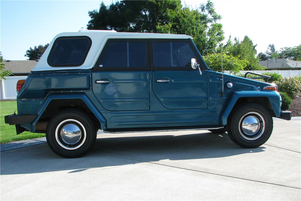 1973 VOLKSWAGEN THING 4 DOOR - Side Profile - 137646