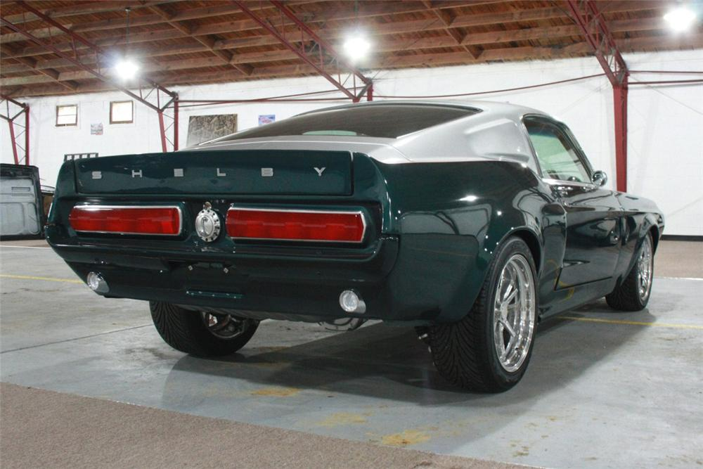 1967 FORD MUSTANG CUSTOM FASTBACK - Rear 3/4 - 137648