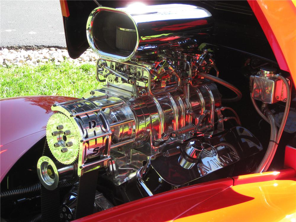 1941 WILLYS CUSTOM COUPE - Engine - 137651