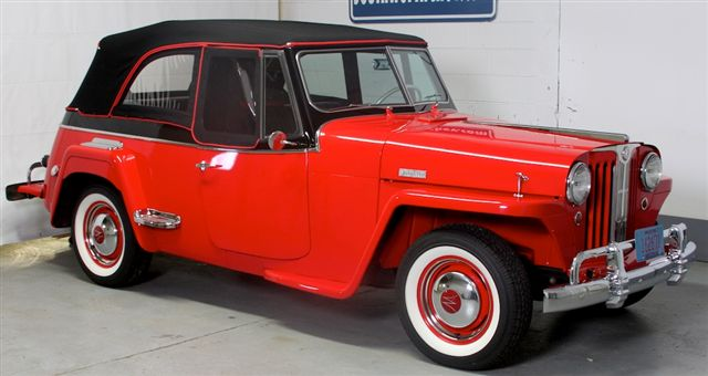 1948 WILLYS JEEPSTER CONVERTIBLE - Front 3/4 - 137653