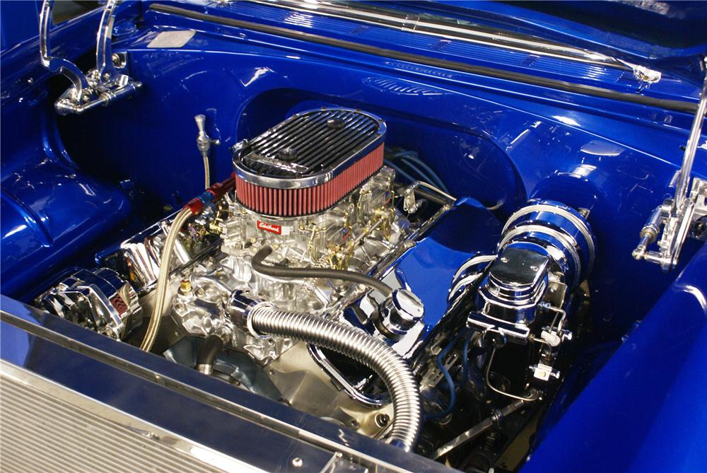 1955 CHEVROLET NOMAD CUSTOM WAGON - Engine - 137654