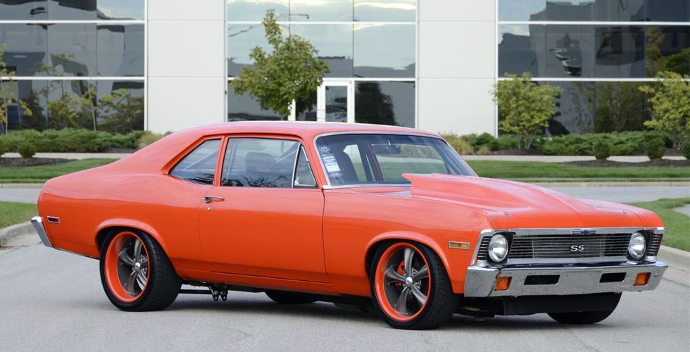 1972 CHEVROLET NOVA CUSTOM 2 DOOR COUPE - Front 3/4 - 137656