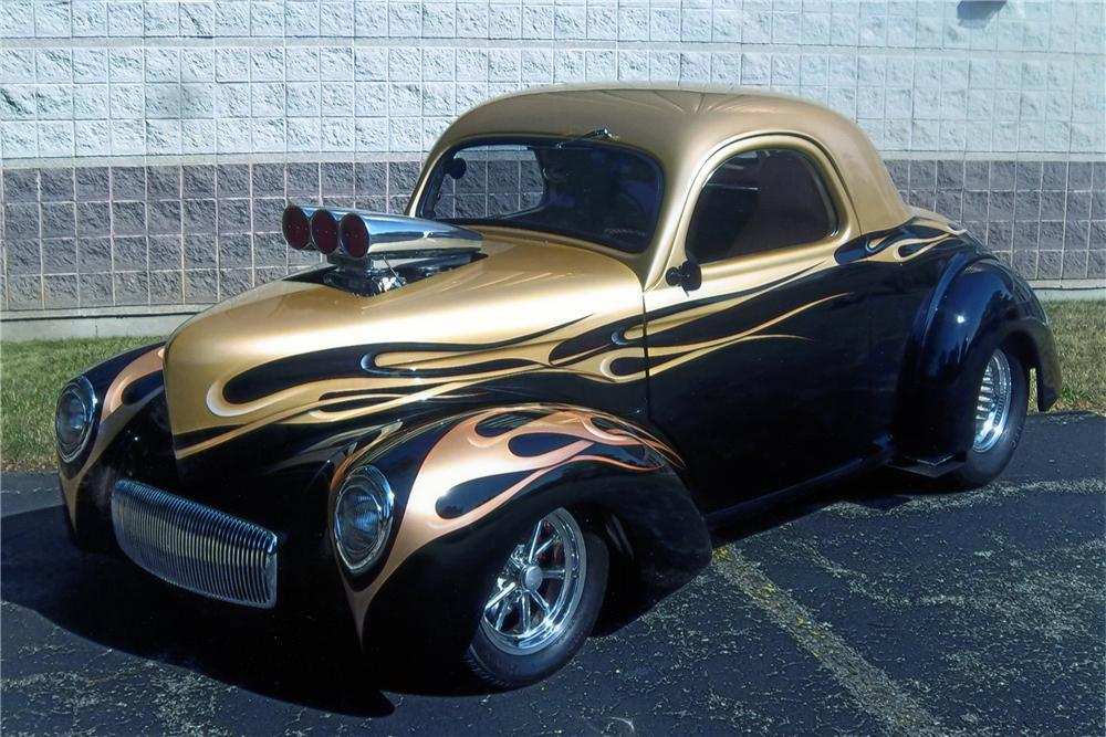 1941 WILLYS CUSTOM COUPE - Front 3/4 - 137662
