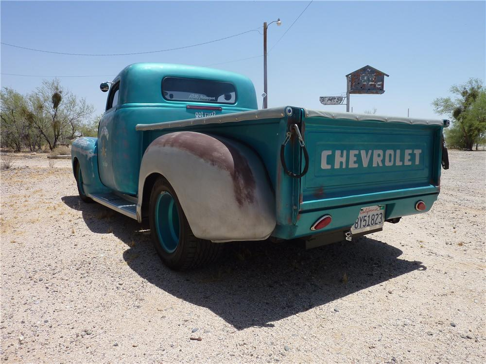 1949 CHEVROLET 3100 CUSTOM PICKUP - Rear 3/4 - 137663