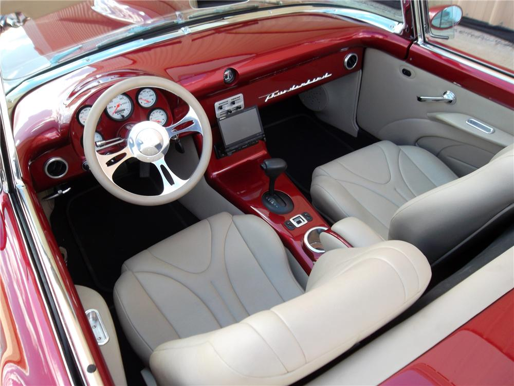 1957 FORD THUNDERBIRD CUSTOM CONVERTIBLE - Interior - 137664