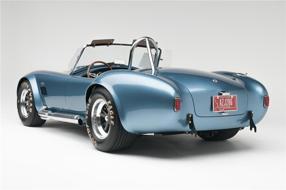 1965 SHELBY COBRA CSX 6000 ROADSTER - Rear 3/4 - 137665