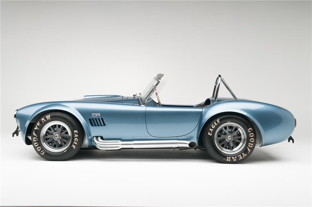 1965 SHELBY COBRA CSX 6000 ROADSTER - Side Profile - 137665