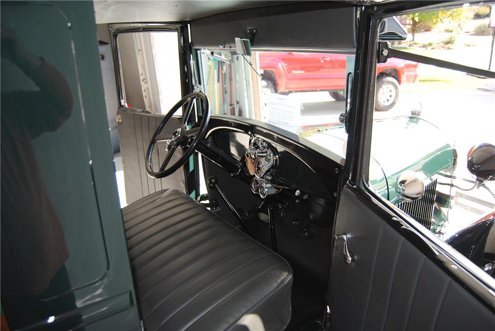 1929 FORD AA PICKUP - Interior - 137669