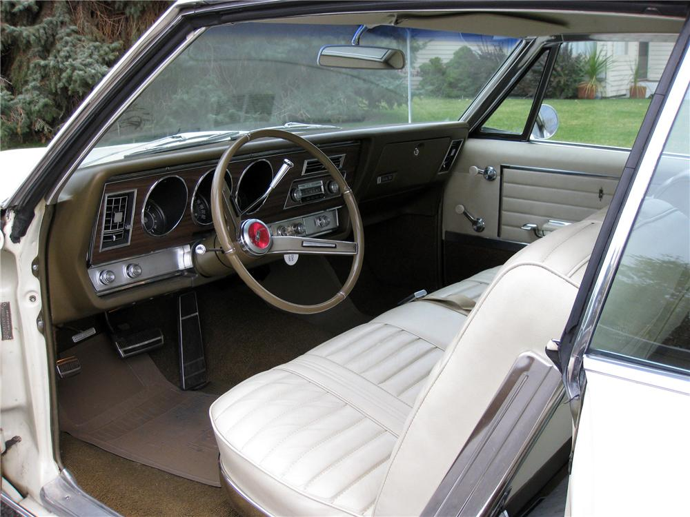 ... 1967 OLDSMOBILE DELTA 88 2 DOOR HARDTOP - Interior - 137670 ... & 1967 OLDSMOBILE DELTA 88 2 DOOR HARDTOP137670