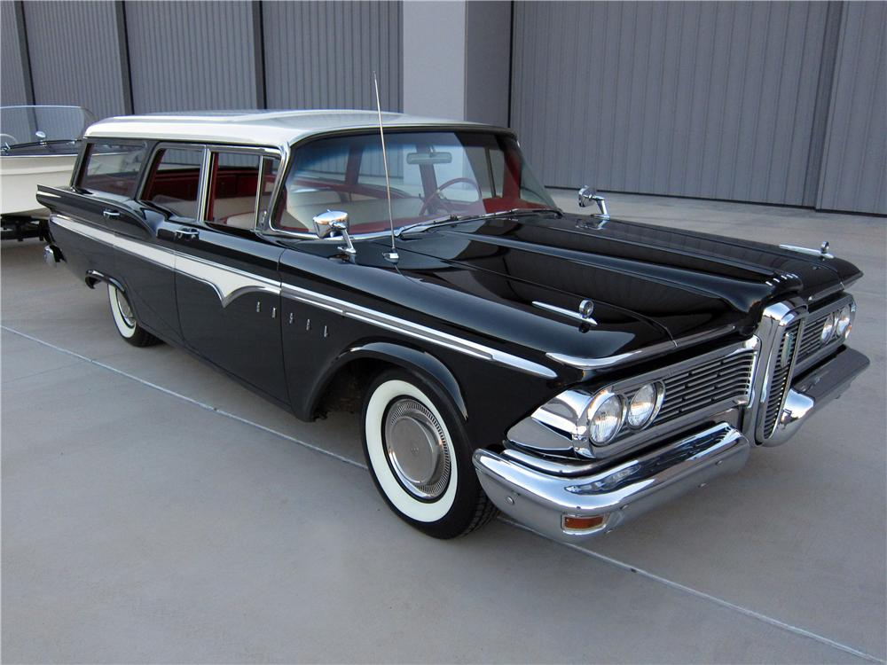 1959 EDSEL VILLAGER STATION WAGON - Front 3/4 - 137674