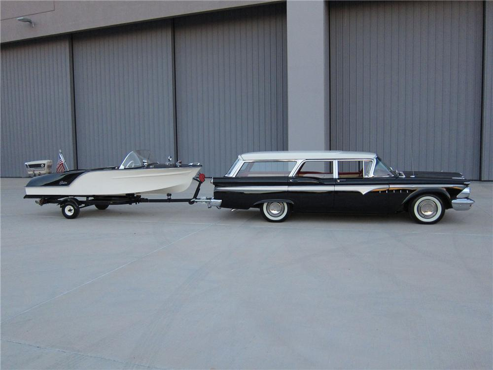 1959 EDSEL VILLAGER STATION WAGON - Side Profile - 137674