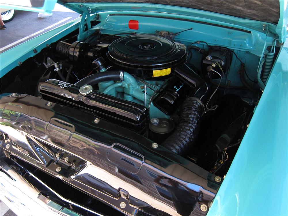 1956 LINCOLN PREMIERE CONVERTIBLE - Engine - 137680