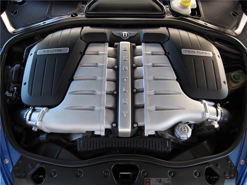 2005 BENTLEY CONTINENTAL GT 2 DOOR COUPE - Engine - 137688