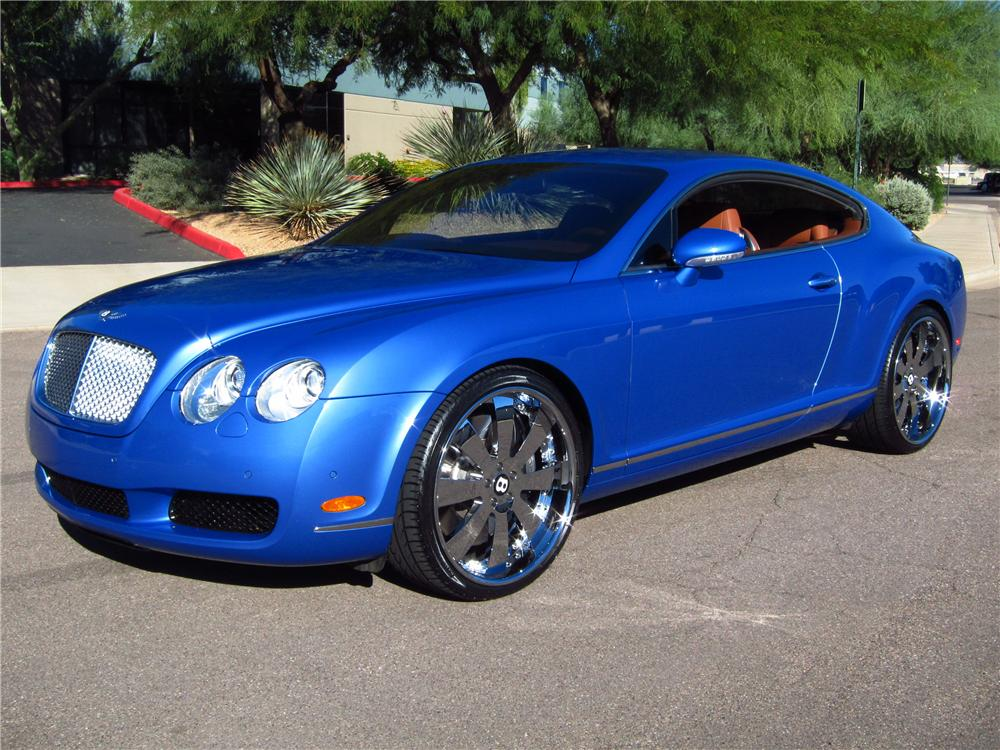 2005 BENTLEY CONTINENTAL GT 2 DOOR COUPE - Front 3/4 - 137688