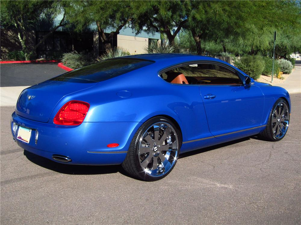2005 BENTLEY CONTINENTAL GT 2 DOOR COUPE - Rear 3/4 - 137688