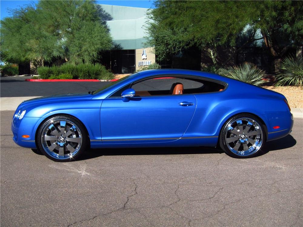 2005 BENTLEY CONTINENTAL GT 2 DOOR COUPE - Side Profile - 137688