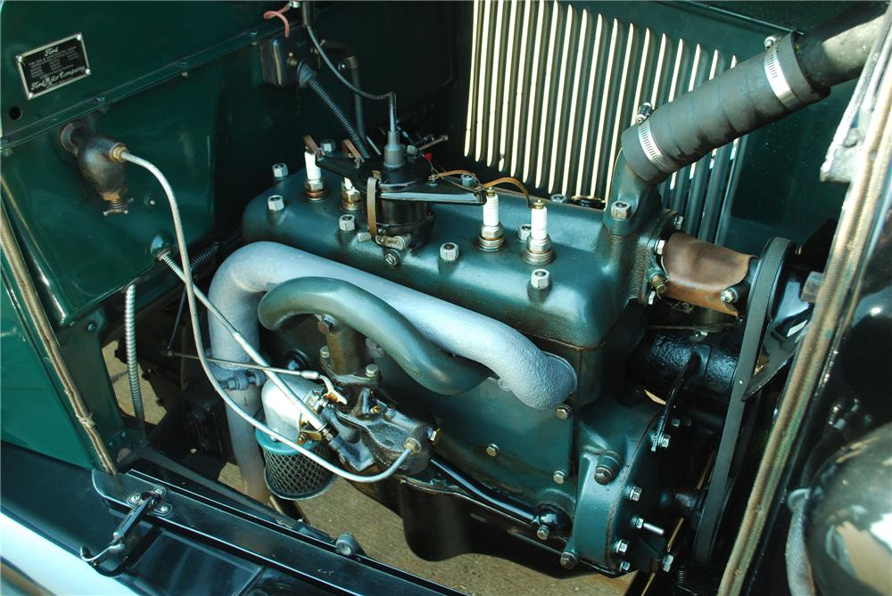 1929 FORD AA FUEL TRUCK - Engine - 137700