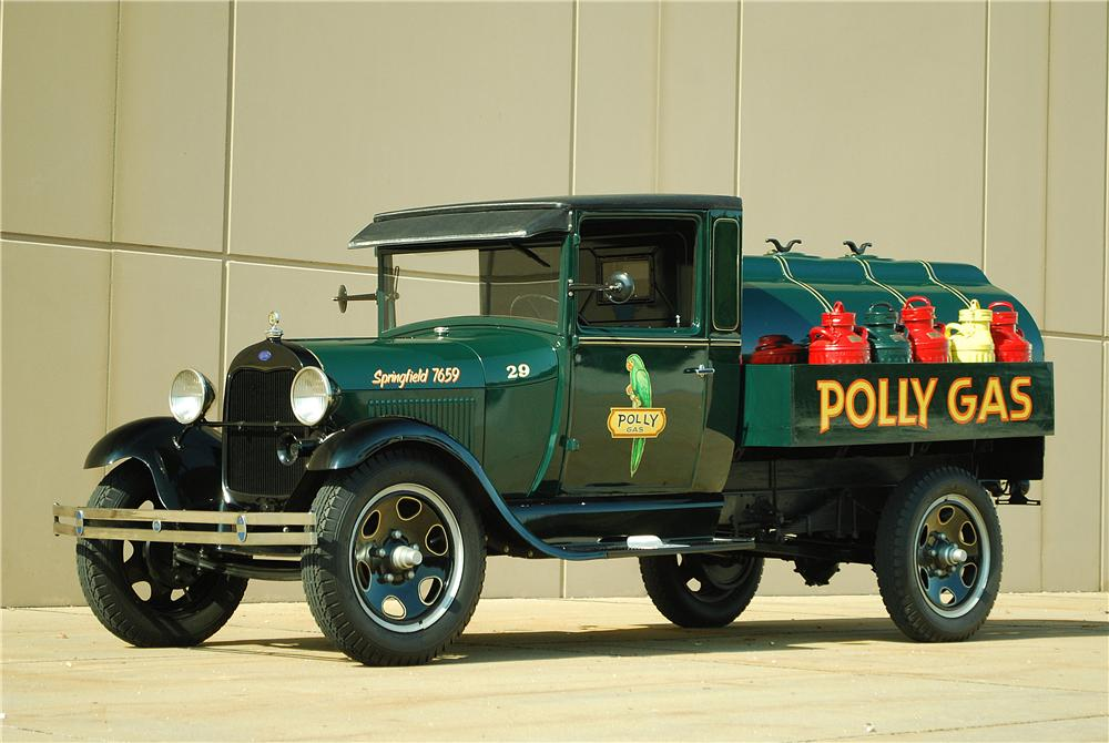 1929 FORD AA FUEL TRUCK - Front 3/4 - 137700