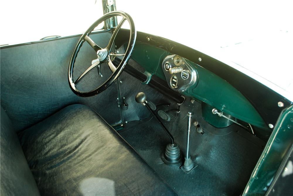 1929 FORD AA FUEL TRUCK - Interior - 137700