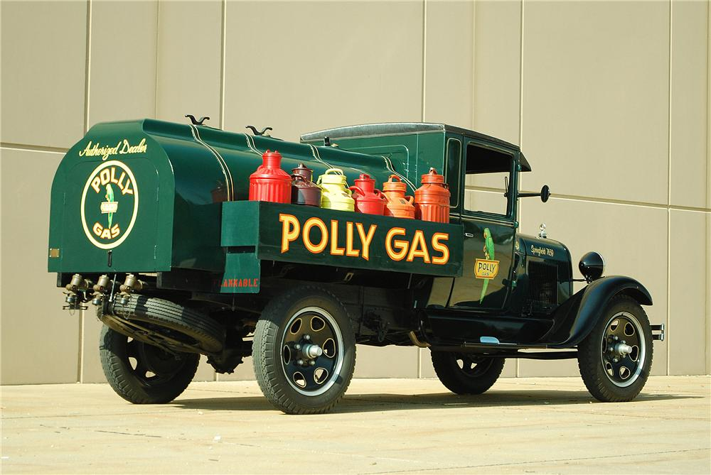 1929 FORD AA FUEL TRUCK - Rear 3/4 - 137700