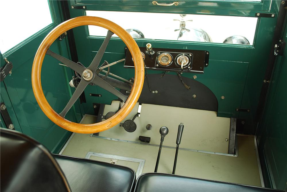 1922 CHEVROLET CANOPY EXPRESS TRUCK - Interior - 137702