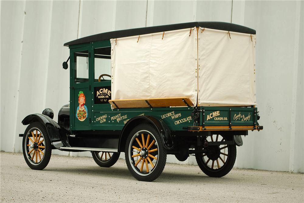 1922 CHEVROLET CANOPY EXPRESS TRUCK - Rear 3/4 - 137702