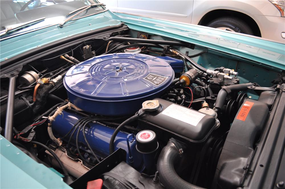 1966 LINCOLN CONTINENTAL 4 DOOR SEDAN - Engine - 137706