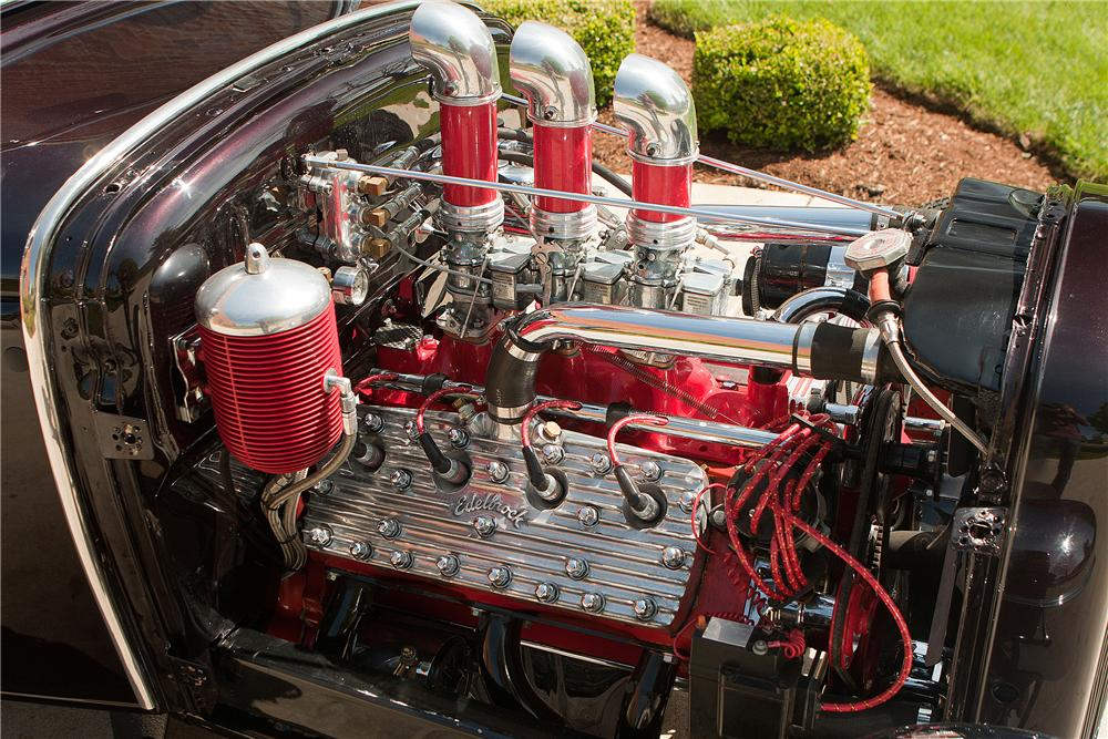 1931 FORD MODEL A ROADSTER - Engine - 137711