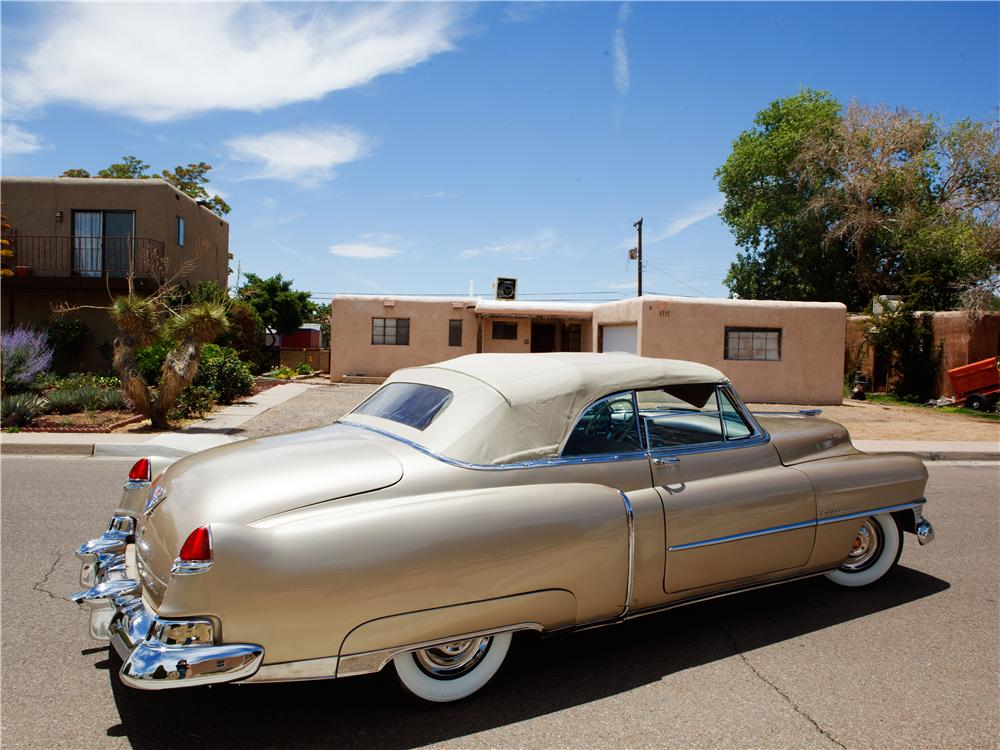 1950 CADILLAC SERIES 62 CONVERTIBLE - Rear 3/4 - 137719
