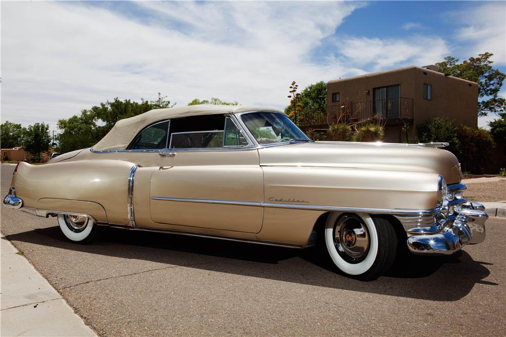 1950 CADILLAC SERIES 62 CONVERTIBLE - Side Profile - 137719