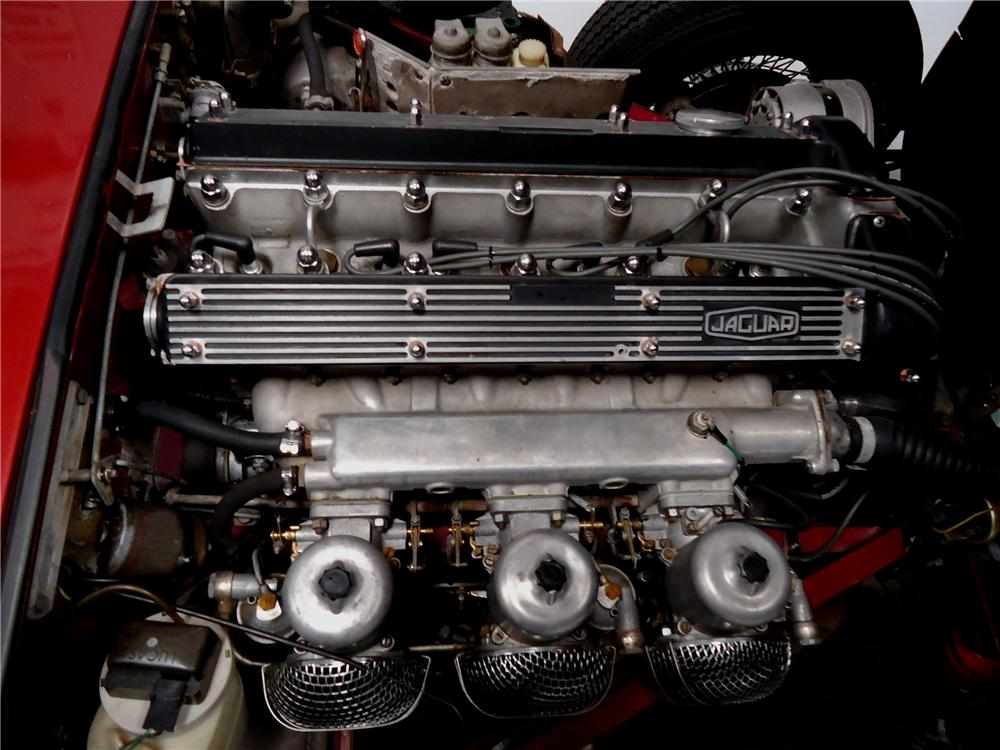 1970 JAGUAR XKE ROADSTER - Engine - 137726