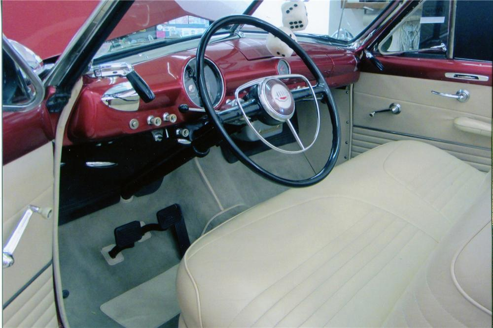 1950 FORD CUSTOM CONVERTIBLE - Interior - 137730