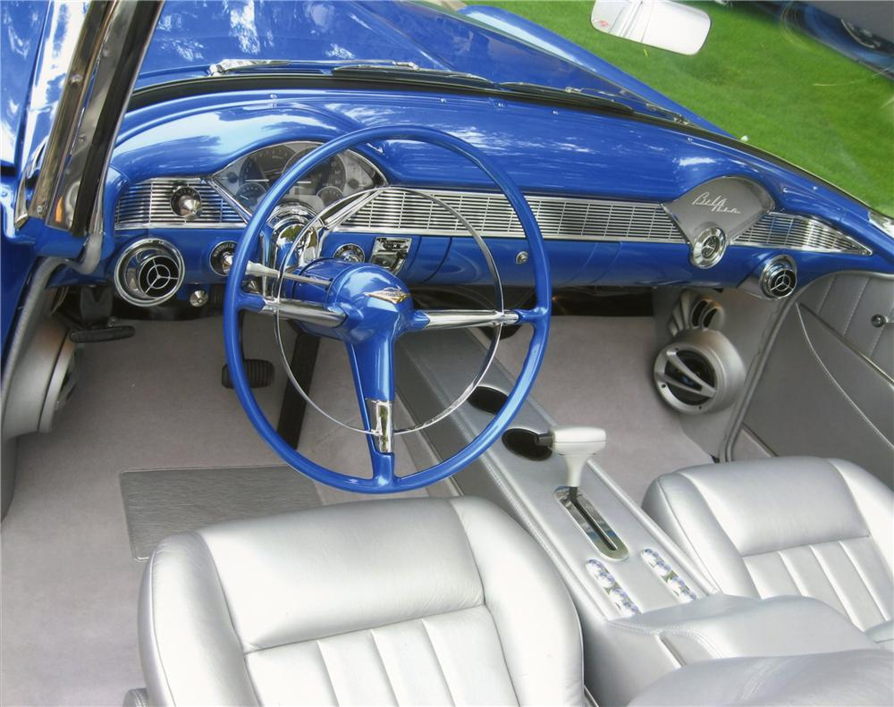 1956 CHEVROLET BEL AIR CUSTOM CONVERTIBLE - Interior - 137733