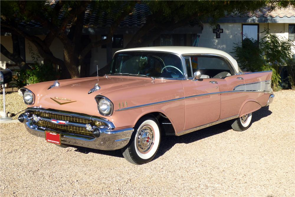 1957 chevrolet bel air 4 door hardtop 137739