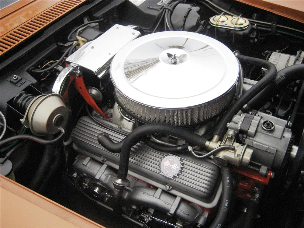 1972 CHEVROLET CORVETTE 2 DOOR COUPE - Engine - 137740