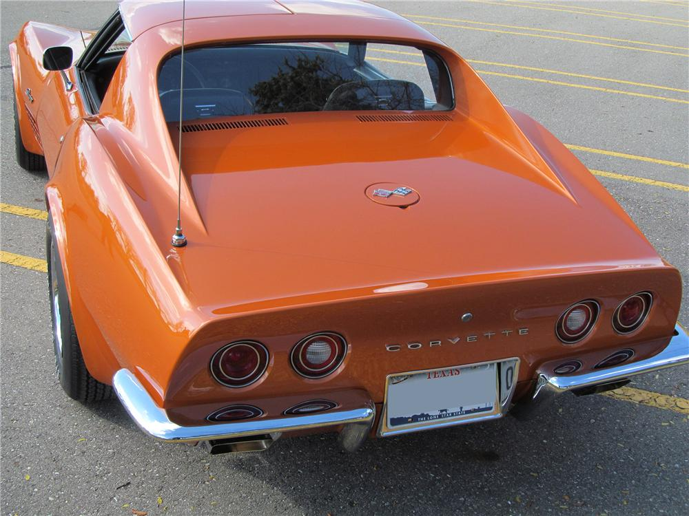 1972 CHEVROLET CORVETTE 2 DOOR COUPE - Rear 3/4 - 137740