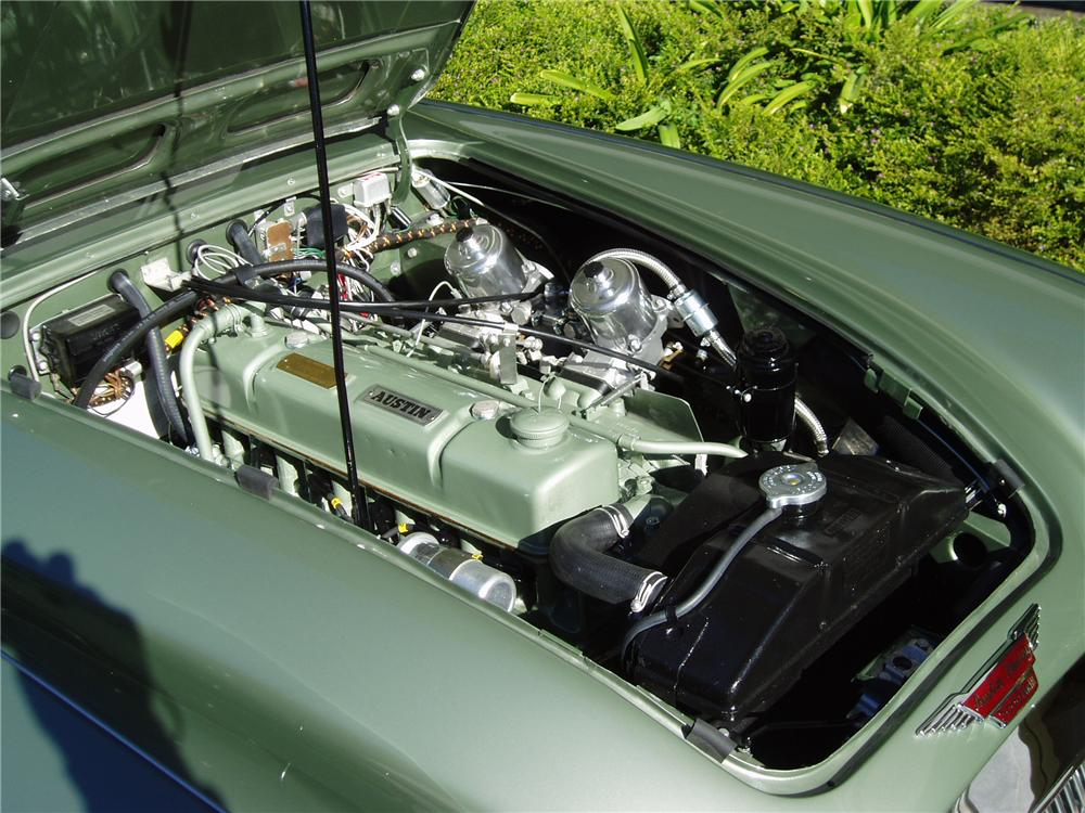 1965 AUSTIN-HEALEY 3000 MARK III BJ8 CONVERTIBLE - Engine - 137742