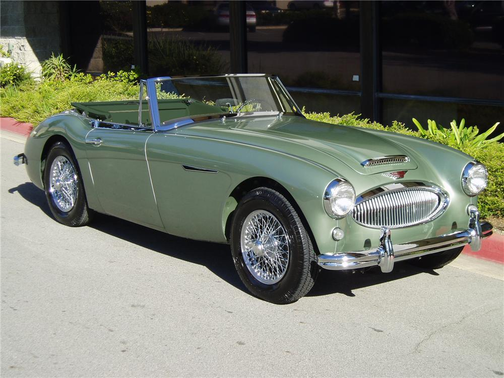 1965 austin healey 3000 mark iii bj8 convertible 137742. Black Bedroom Furniture Sets. Home Design Ideas