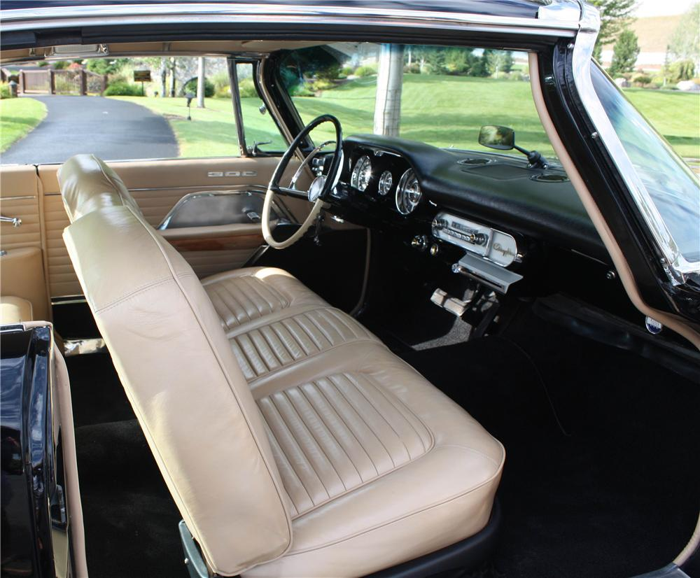 1957 CHRYSLER 300C 2 DOOR HARDTOP - Interior - 137749