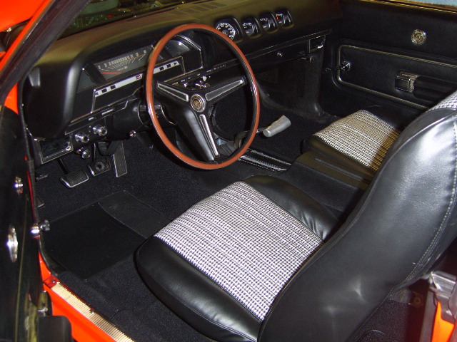 1970 MERCURY CYCLONE 2 DOOR HARDTOP - Interior - 137757