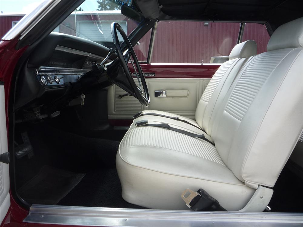 1969 DODGE DART GTS CONVERTIBLE - Interior - 137759