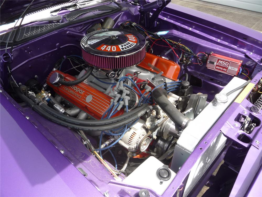 1971 PLYMOUTH ROAD RUNNER 2 DOOR COUPE - Engine - 137761