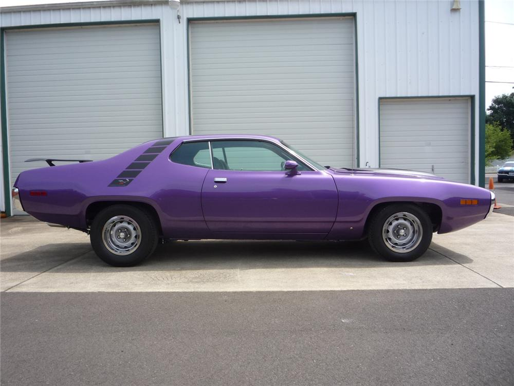 1971 PLYMOUTH ROAD RUNNER 2 DOOR COUPE - Side Profile - 137761
