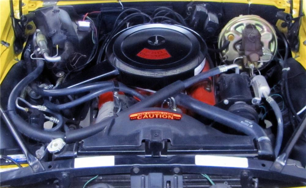 1969 CHEVROLET CAMARO SS CONVERTIBLE - Engine - 137762